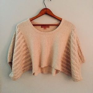 Anthropologie Kaisely Cropped Sweater